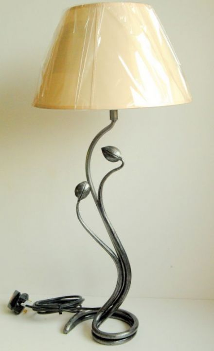 Belltrees Forge Table Lamp Tulip